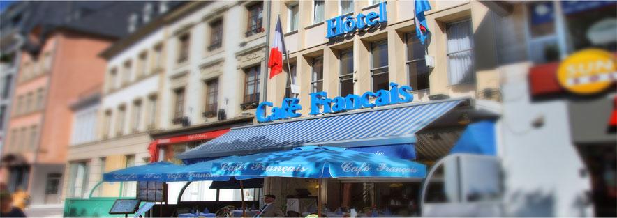 H tel fran ais luxembourg h tel au centre de la ville de for Piscine au luxembourg